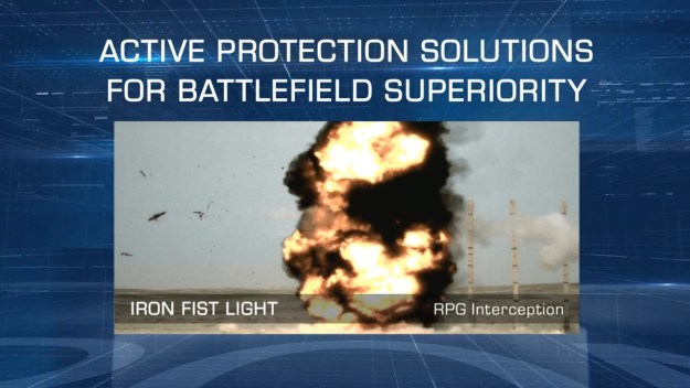 US Army tests IMI Iron Fist Active Protection System into next testing phase