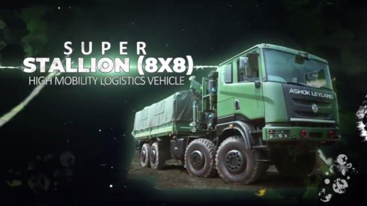 Ashok Leyland Super Stallion 8×8 High Mobility Vehicle (HMV)