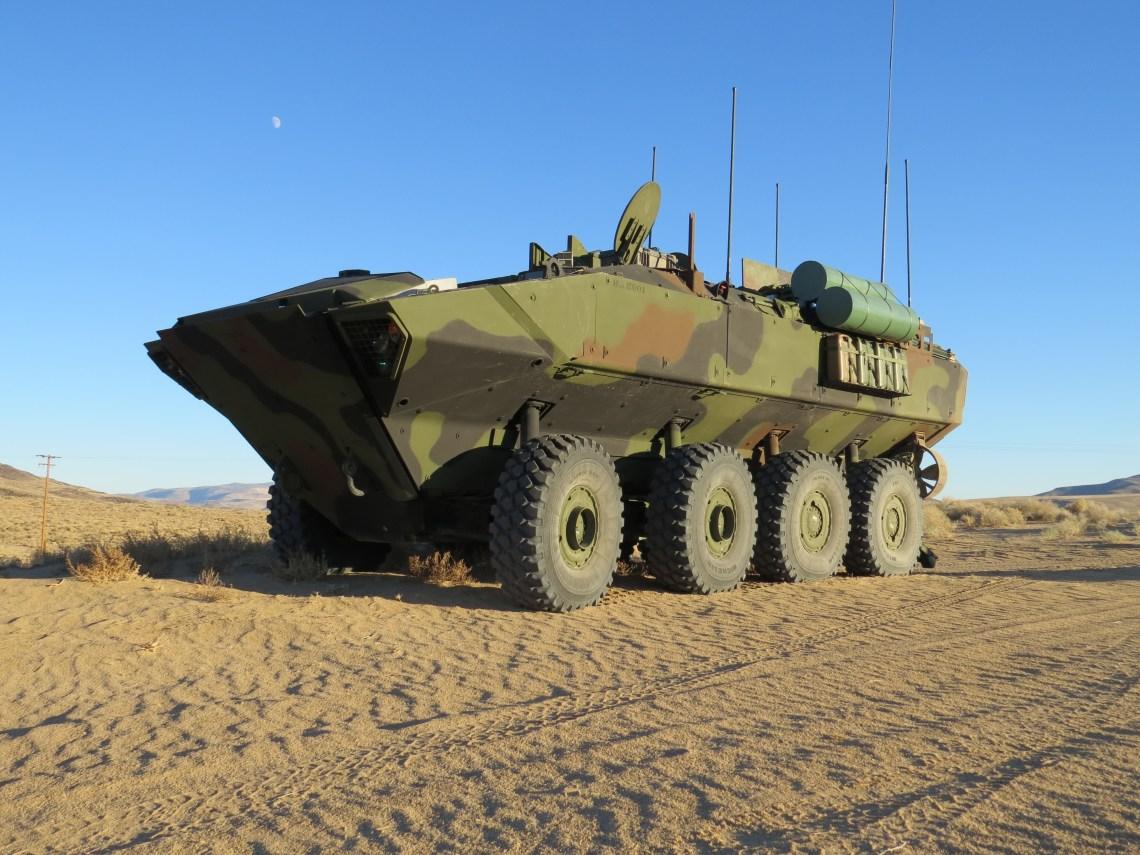 BAE Systems Amphibious Combat Vehicles (ACV)