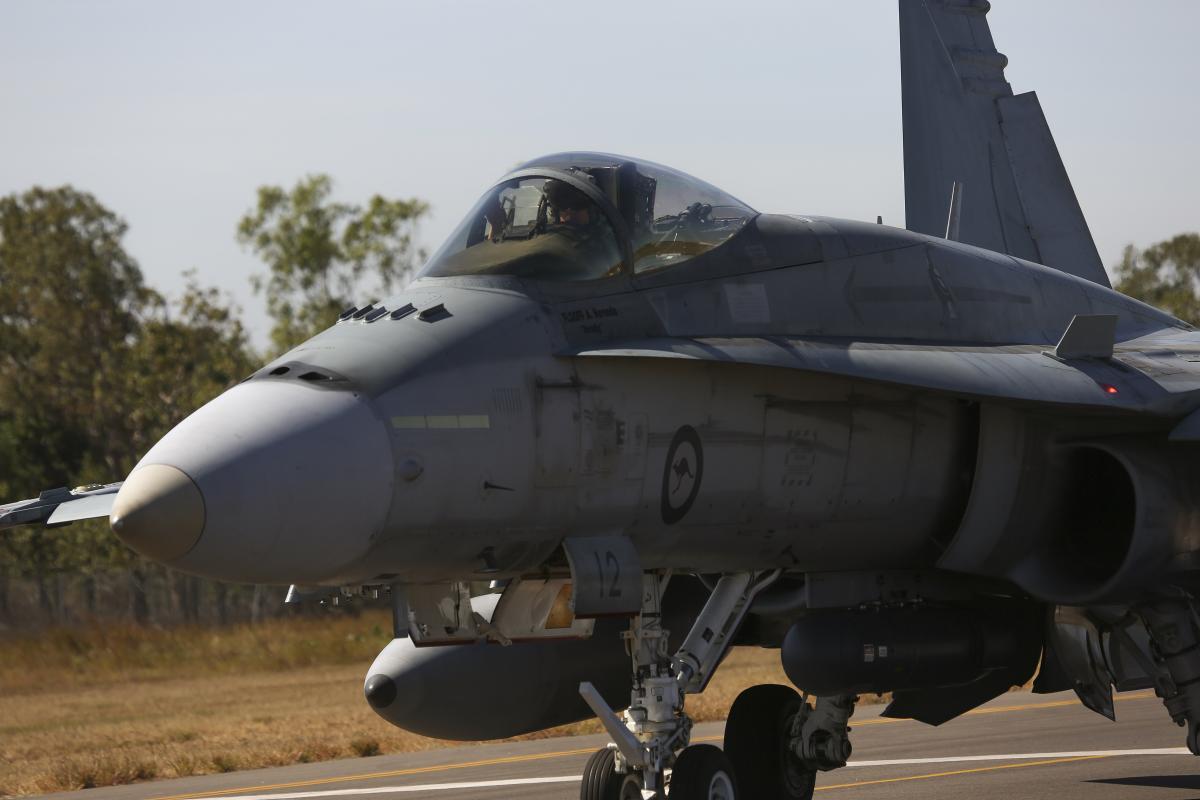 Australian F/A-18A/B Hornets