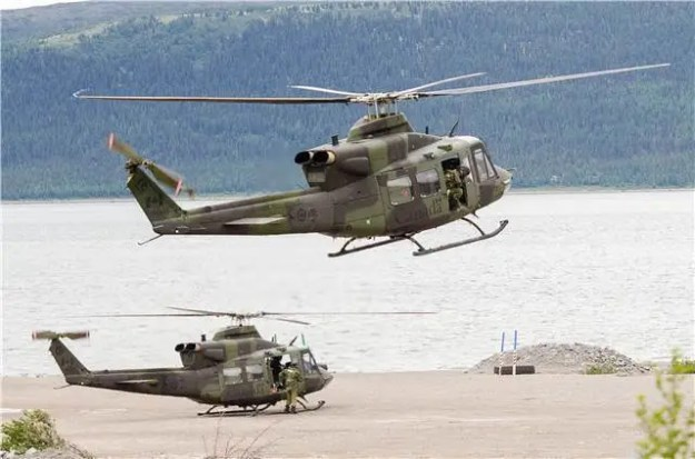 Royal Canadian Air Force Bell CH-146 Griffon