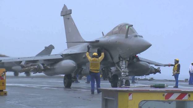 French Navy receives first Dassault Rafale F3-R Carrier-borne version