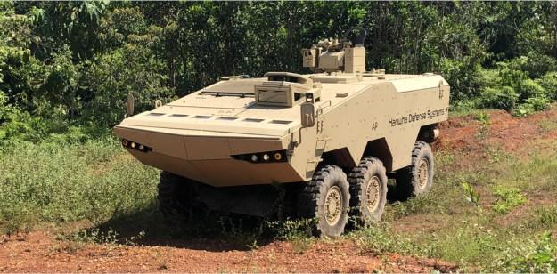 Hanwha Defense Systems Tigon 6×6 Armored Wheeled Vehicle