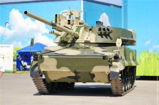 Russia's Lotus 120mm Air-Droppable Artillery
