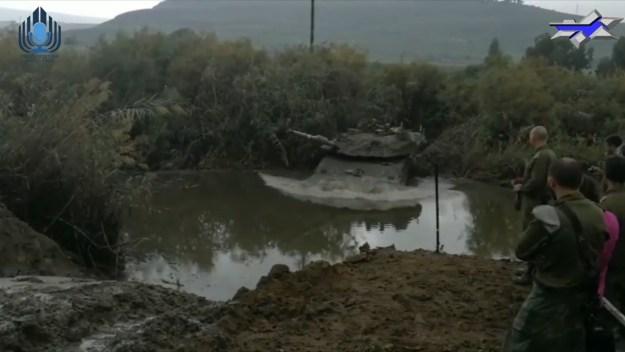 Israel Defense Forces Merkava main battle tank