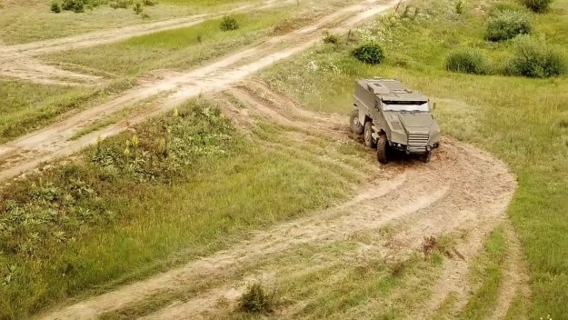 Nexter System Titus 6x6 wheeled armoured vehicle