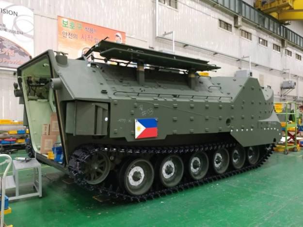 Philippine Navy Korea Amphibious Assault Vehicle (KAAV)