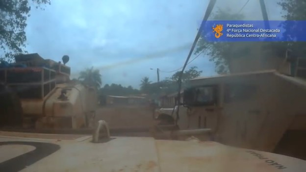 Portuguese Airbornes in heavy combat with rebellions in Central African Republic