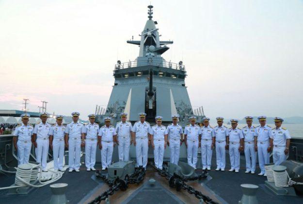 Royal Thai Navy HTMS Bhumibol Adulyadej