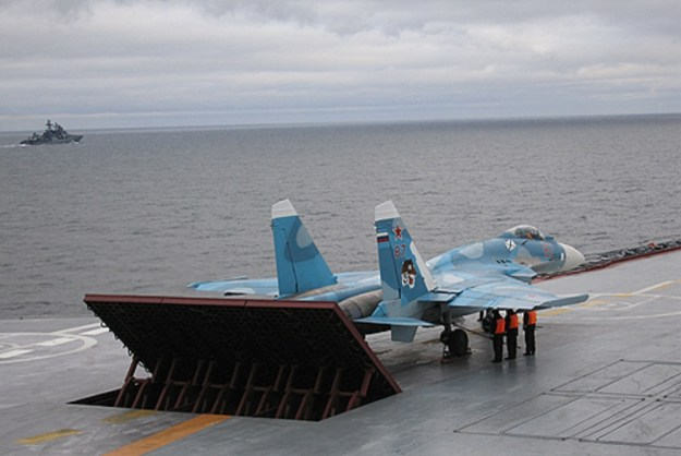 Sukhoi Su-33 carrier-based twin-engine air superiority fighter