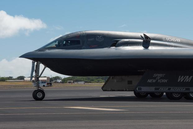 U.S. Air Force Deploys B-2 Spirit Stealth Strategic Bombers to Hawaii