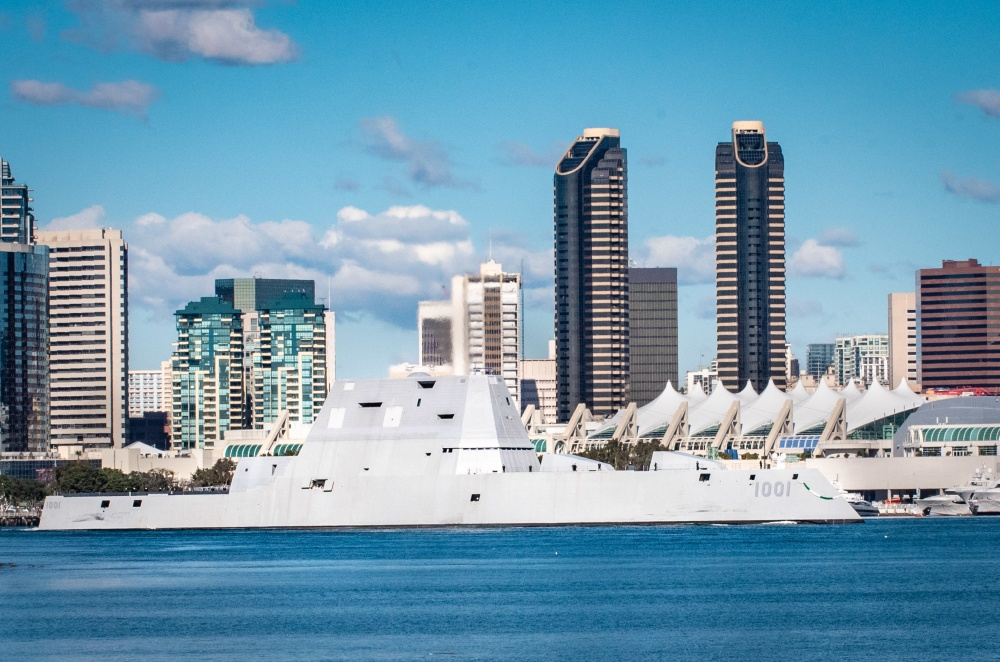 U.S. Navy to commission USS Michael Monsoor Zumwalt-class destroyer