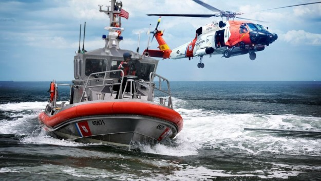US Coast Guard are working without pay for the first time in history