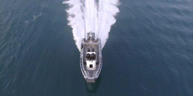 Zodiac Milpro SRA-900 Ultimate Coast Guard RIB