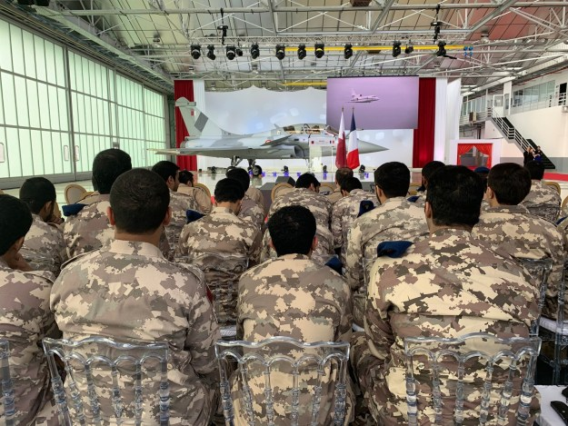 Dassault Aviation First Rafale delivery to the State of Qatar
