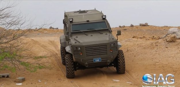 Guardian Xtreme 4×4 MRAP