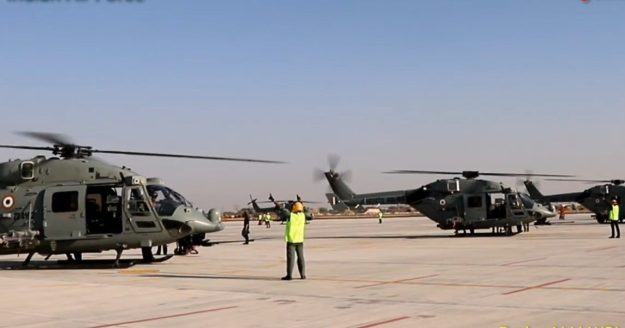 HAL Rudra ALH-WSI Light Attack Helicopter