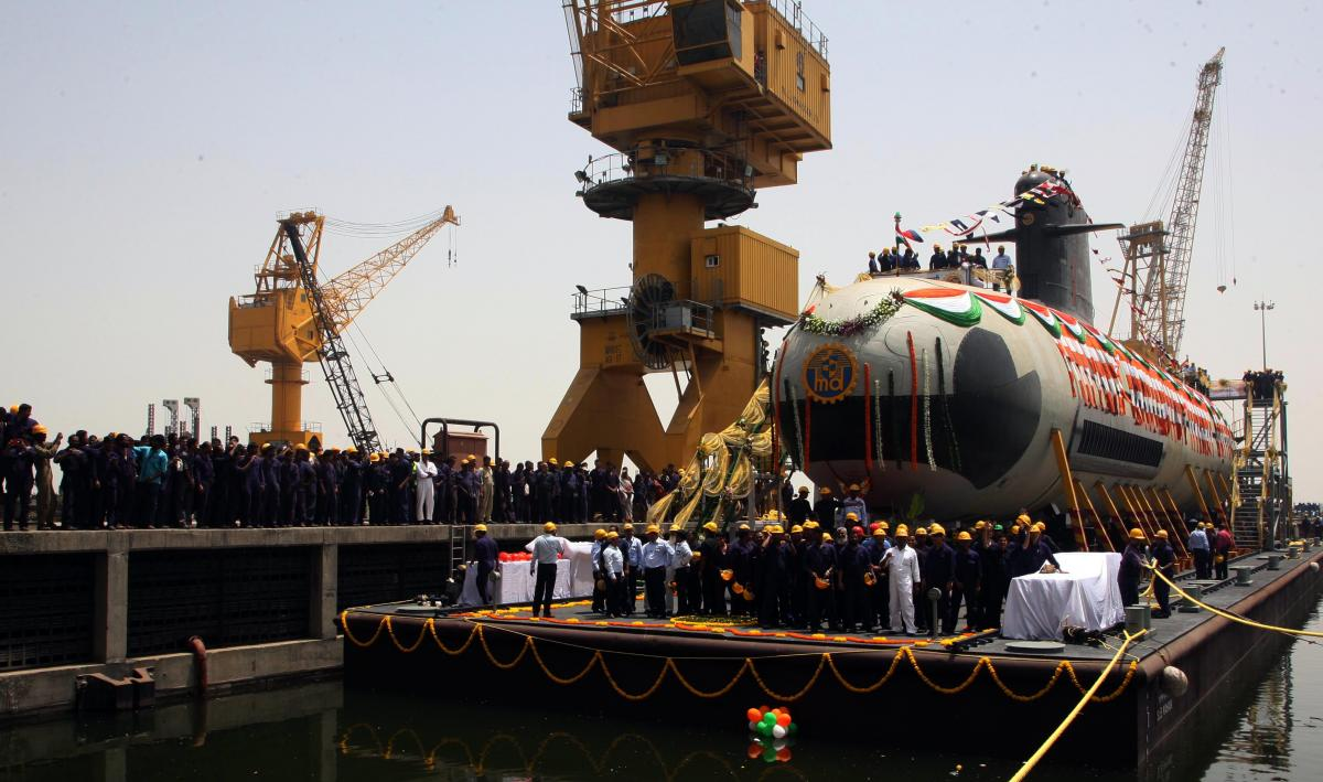 India Approves Program for Six P-75I Submarines