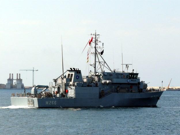 Turkish Navy Amasra (M266) A-class minehunter