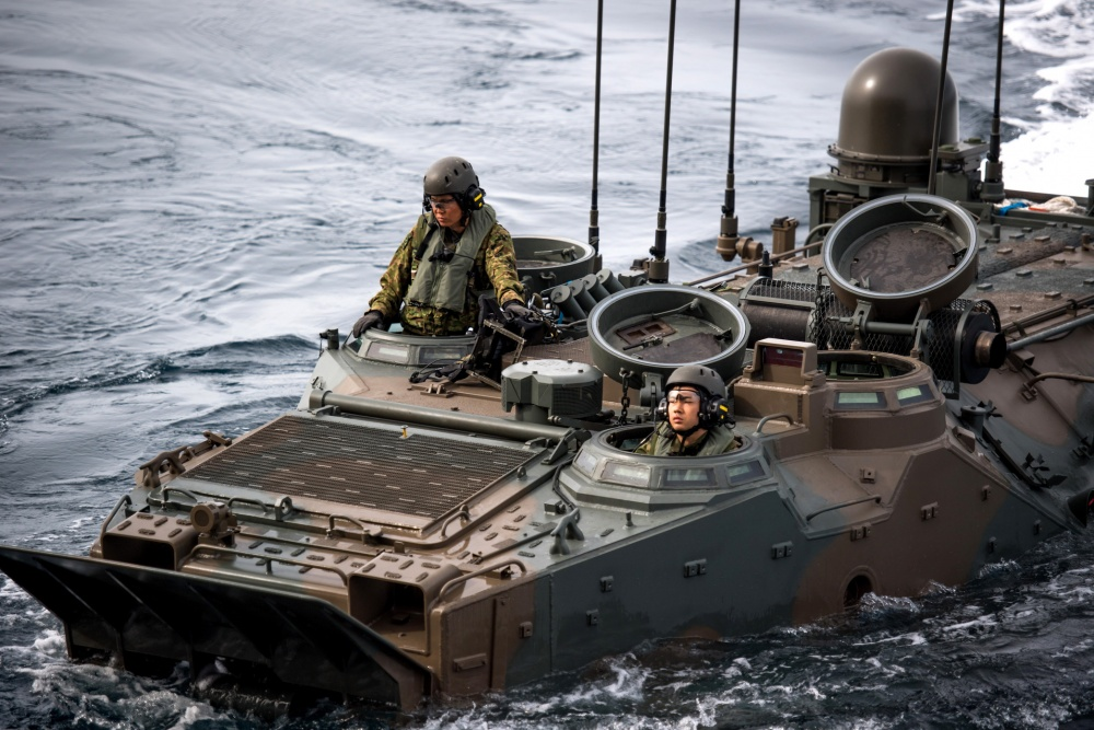 Japan certified its Amphibious Rapid Deployment Brigade (ARDB) in joint exercise with US marines