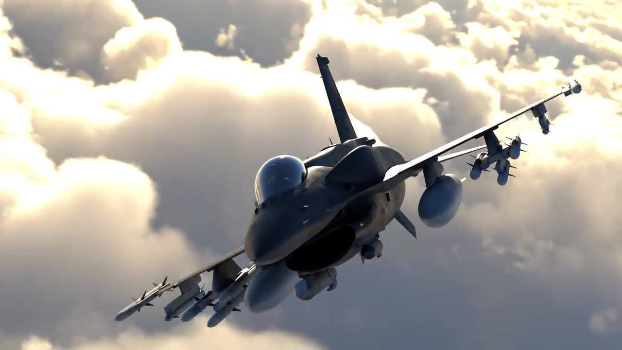 Lockheed Martin F-21 fighter jet