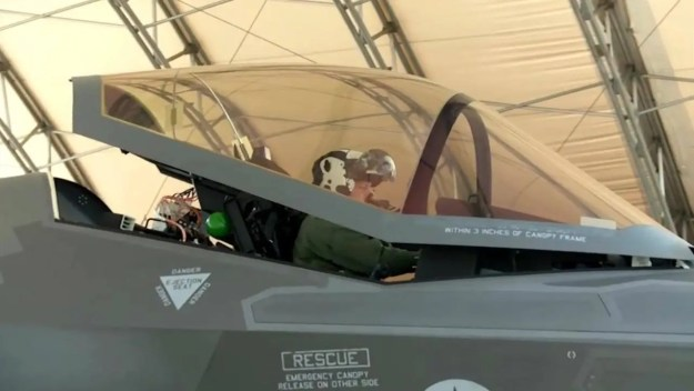 Martin-Baker US16E F-35 Ejection Seat