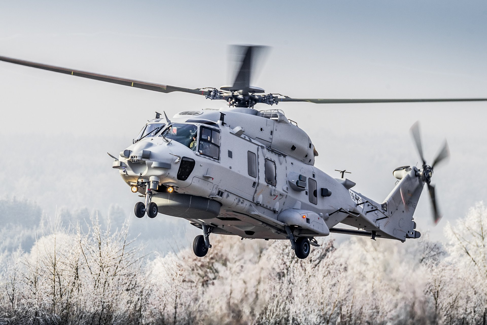 NHIndustries NH90 multi-role military helicopter