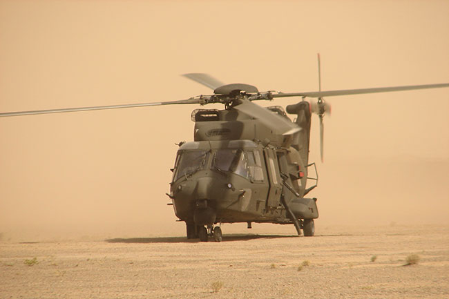 NHIndustries NH90 TTH version (Tactical troop transport)