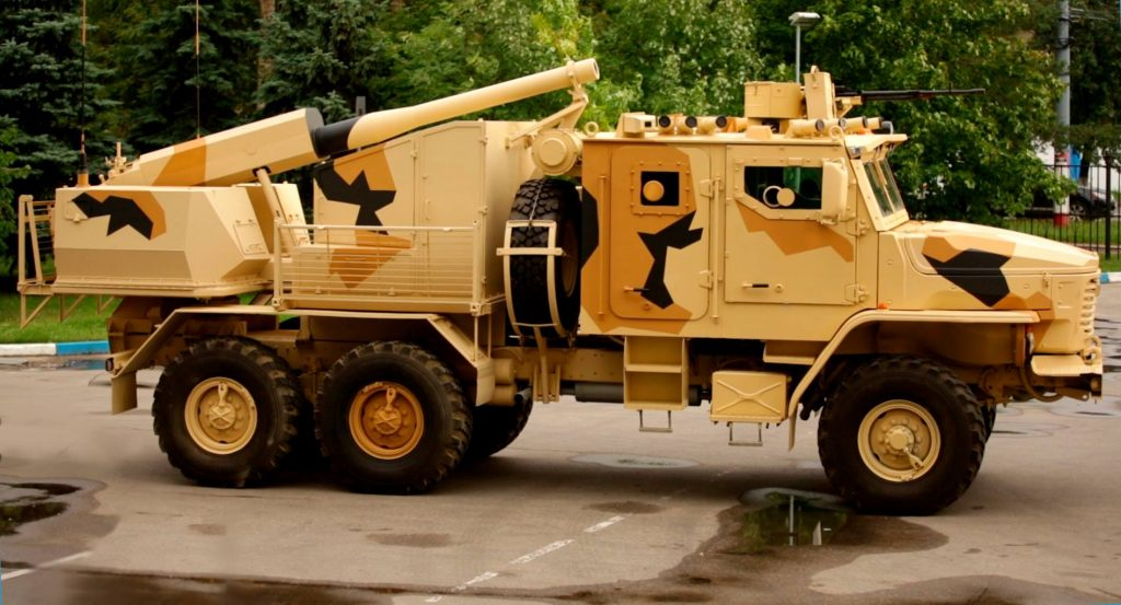 Phlox (Floks) 120 mm self-propelled mortar system