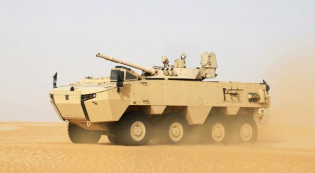 Rabdan 8x8 IFV Infantry Fighting Vehicle