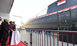 Republic of Singapore Navy RSS Invincible Type 218SG class submarine