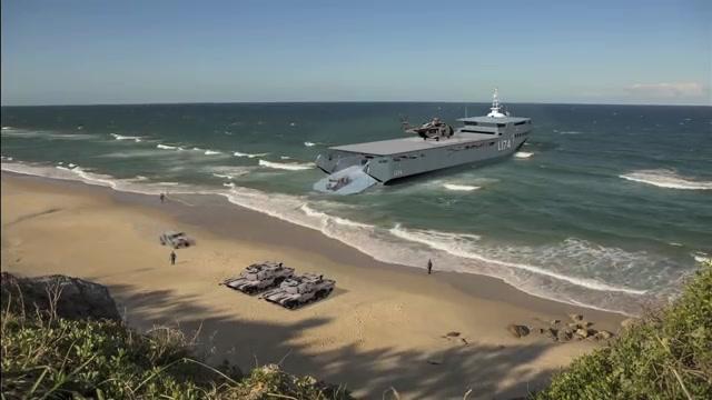 Stern Landing Vessel vs Conventional Landing Craft