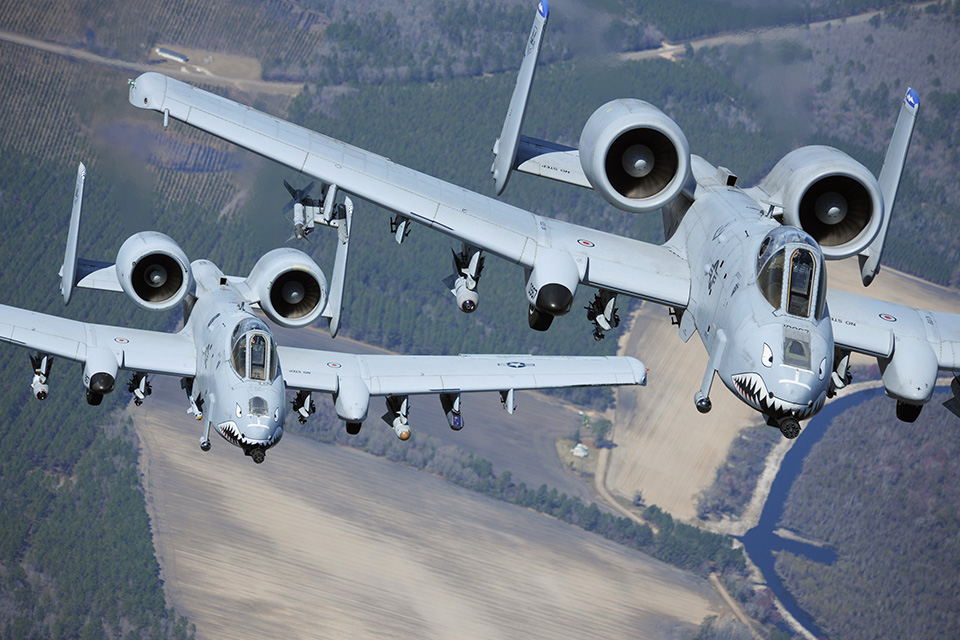 A-10 Thunderbolt II Wing Replacement
