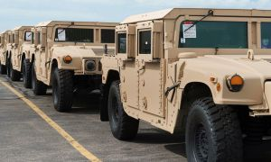 AM General To Produce 739 New HMMWVs In Support Of The United States Army's Modernization Efforts
