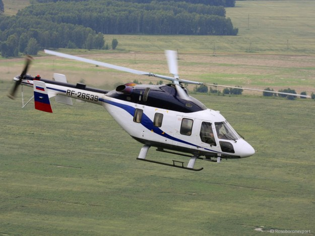 Ansat light multipurpose helicopter