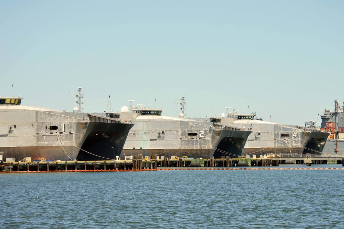 The Spearhead-class expeditionary fast transport (EPF) is a United States Navy–led shipbuilding program to provide