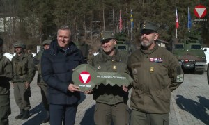 BAE Systems delivers first BvS10 all-terrain vehicles to Austrian Armed Forces