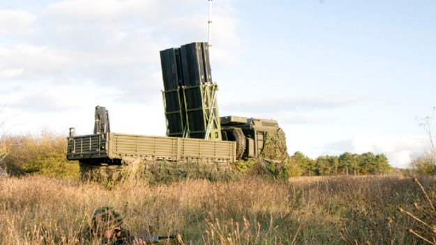 CAMM FLAADS (Common Anti-Air Modular Missile Future Local Area Air Defence System)
