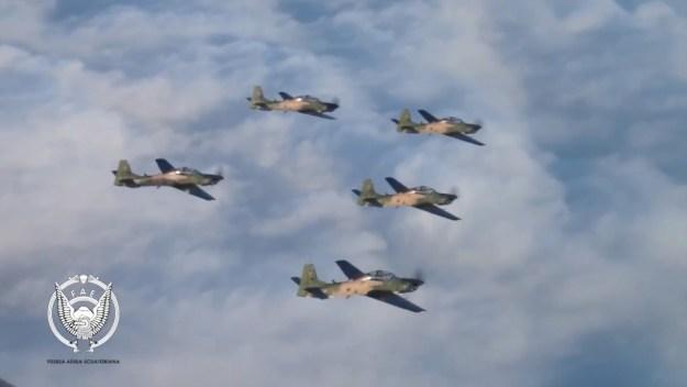 Ecuadorian Air Force A-29 Super Tucano
