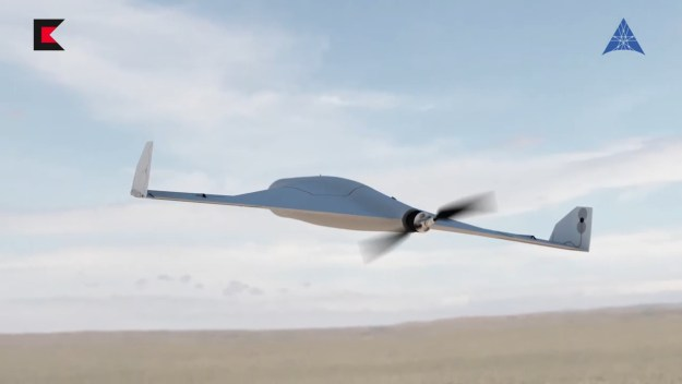 KYB UAV unmanned combat aerial system