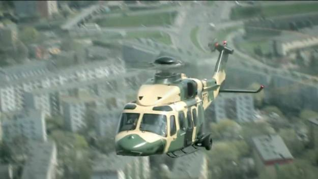 Leonardo AW149 Medium-lift Military Helicopter