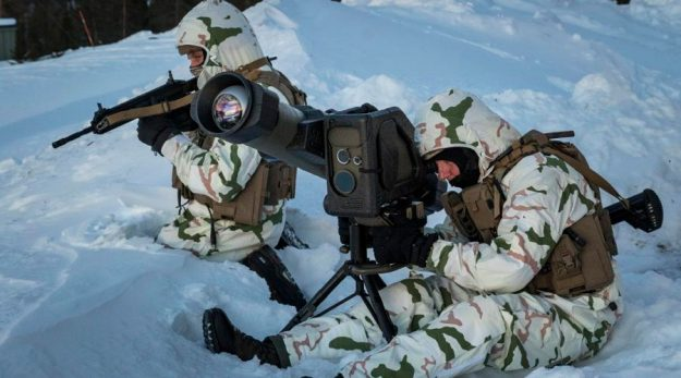 MBDA MMP land combat missile system