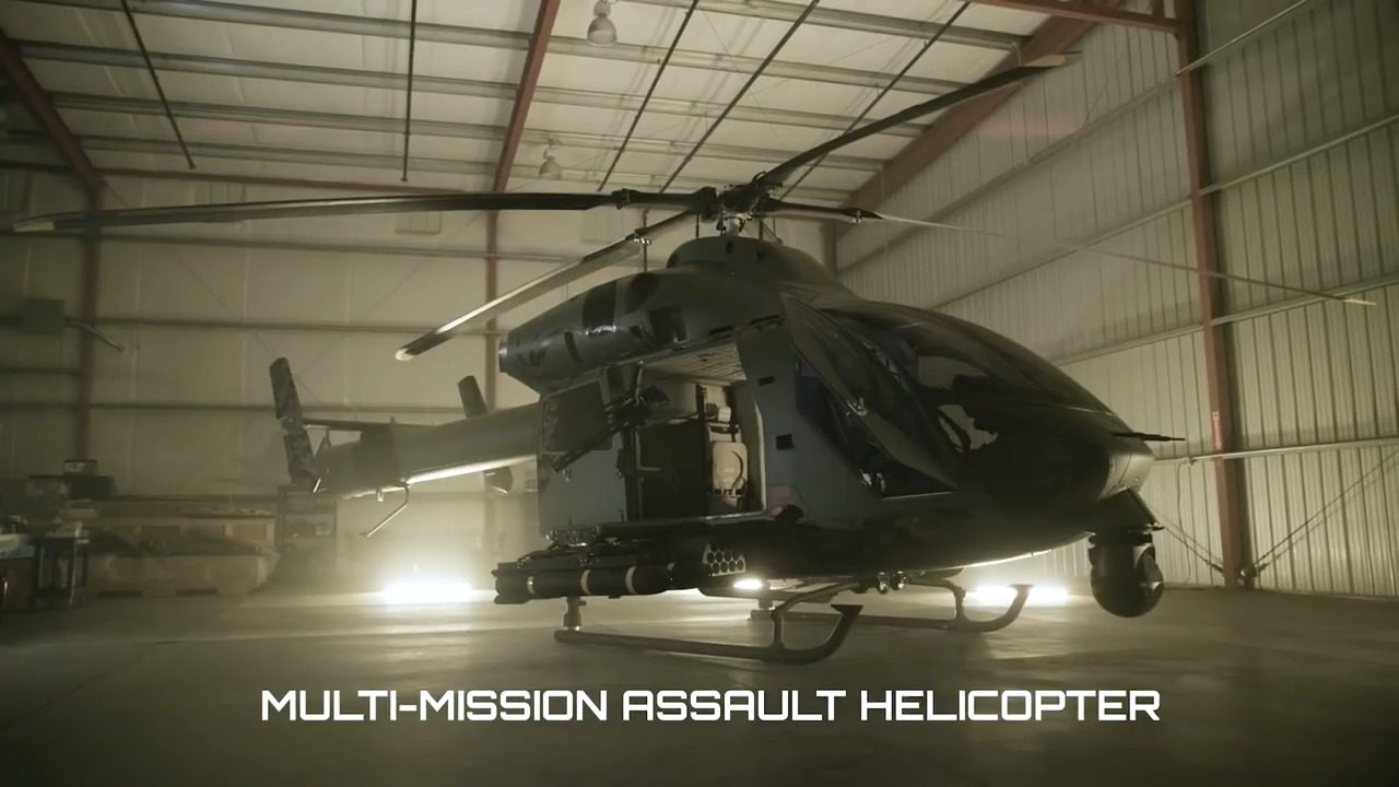 MD 969 Combat Attack Helicopter