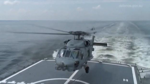 Royal Australian Navy MH-60R Romeo