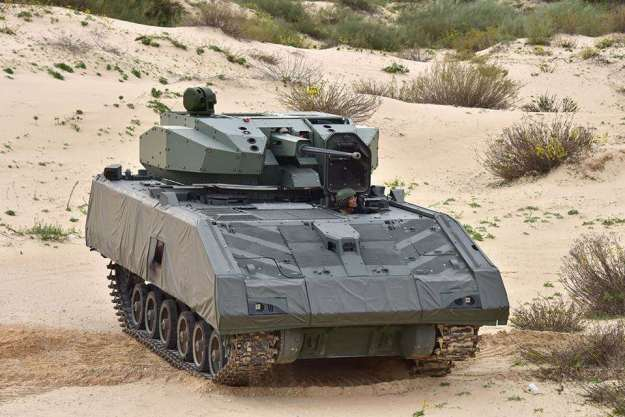 Singapore's NGAFV received new Samson 30 unmanned turret