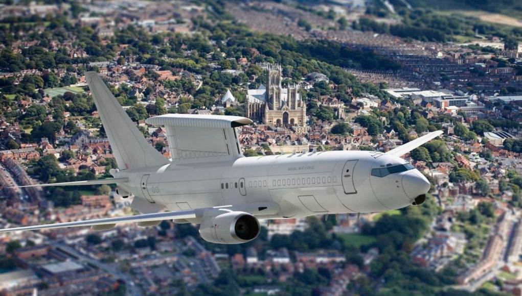 UK Orders Five Boeing E-7 AEW&C in $2 Billion Deal