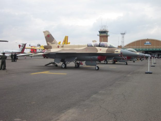 Royal Moroccan Air Force F-16C/D Block 72 fighter