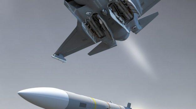 MBDA's Meteor beyond visual range air-to-air missile