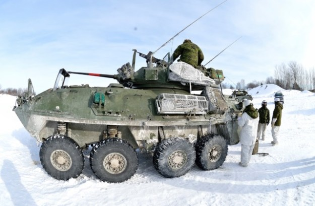 Light Armoured Vehicle II (LAV II) Coyote