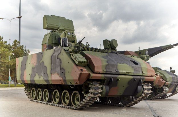 KORKUT Self Propelled Air Defense Gun System